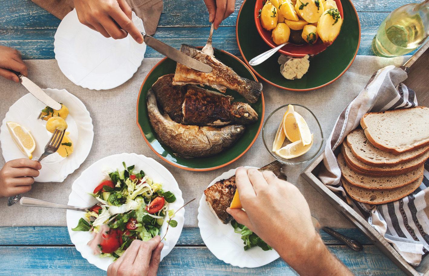 عادات غذایی خوب گذشته